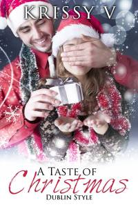 Author Krissy V A Taste of Christmas Cover Reveal