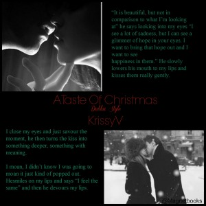 Author Krissy V A Taste of Christmas Teaser ATOCKV5