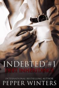Author Pepper Winters Debt Inheritance cover