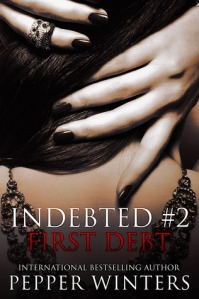 Author Pepper Winters First Debt Cover