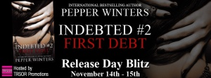 Author Pepper Winters first debt-release blitz