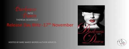 Author Theresa Sederholt Darkness into Dawn Banner