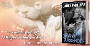 Author Carly Phillips Dare to Surrender Sale