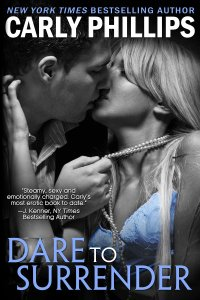 Author Carly Phillips dare to surrender