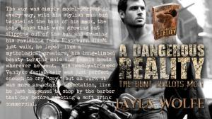 Author Layla Wolfe teaser A Dangerous Reality