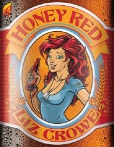 Author Liz Crowe Honey Red cover