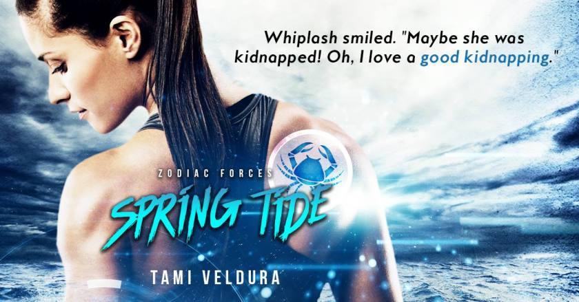 Author Tami Veldura teaser Spring Tide 5.31.16