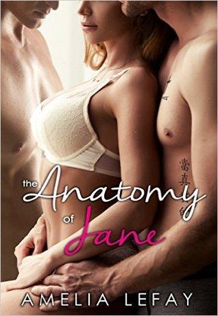 Author Amelia Lefay Cover The Anatomy of Jane Cover 6.1.16
