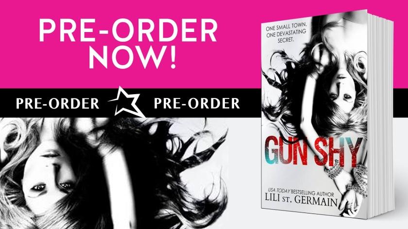 Author Lili St. Germain gun shy preorder 6.15.16