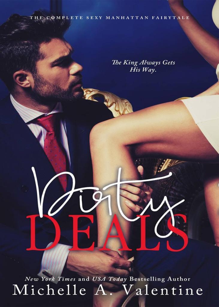 Author Michelle A. Valentine Dirty Deals Crop 6.26.16