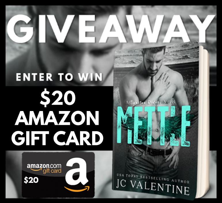 Author J. C. Valentine Giveaway 7.26.16