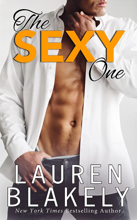 Author Lauren Blakely the sexy one cover 7.27.16