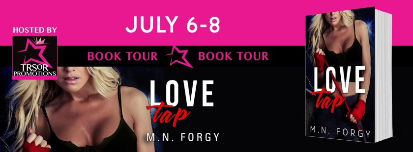 Author M.N. Forgy love tap book tour 7.6.16
