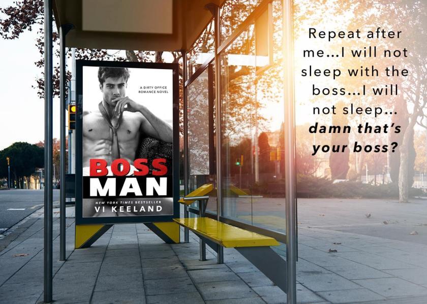 Author Vi Keeland bossman teaser 7.10.16