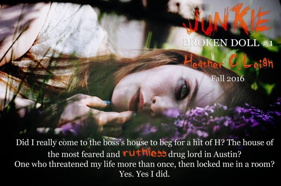 Heather C. Leigh junkie teaser 8.22.16