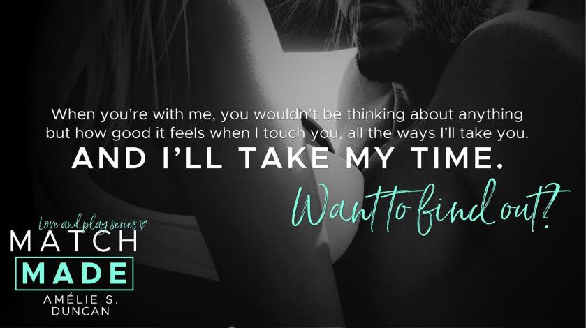 Amelie S. Duncan Match Made teaser 2 3.31.17