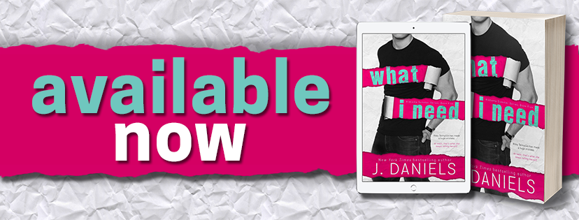 J. Daniels What I Need Available Banner 3.10.17