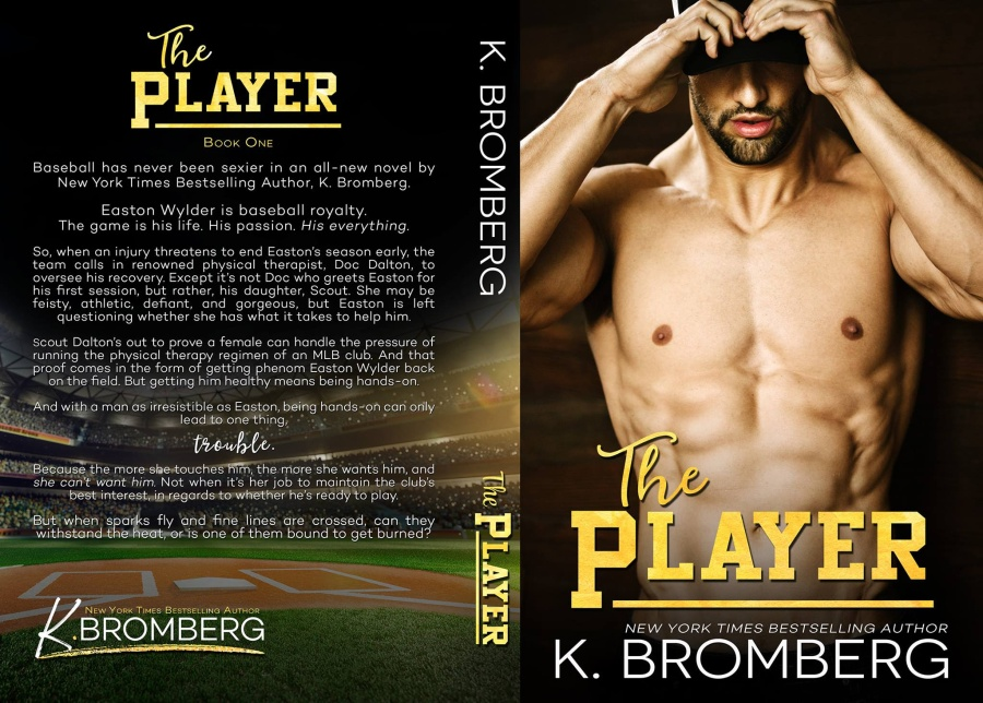 K. Bromberg The Player Full Cover 3.10.17