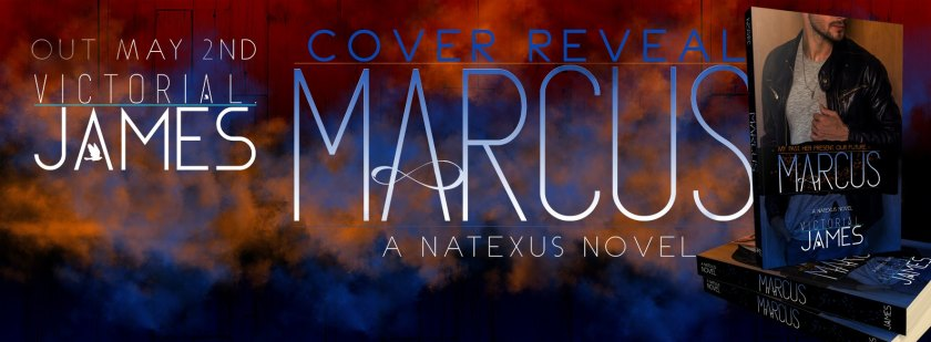 Victoria L. James Marcus Cover Reveal 3.21.17