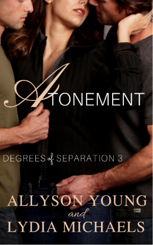 Authors Lydia Michaels & Allyson Young Atonement Cover 4.3.17