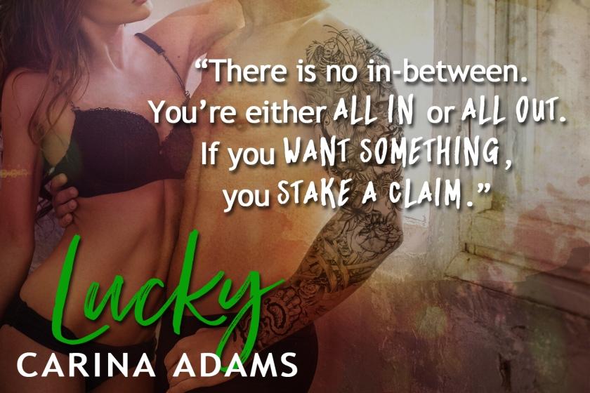 Carina Adams Lucky teaser 1 4.6.17