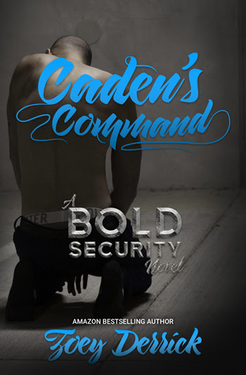 Zoey Derrick Caden's Command Cover Reveal 4.2.17