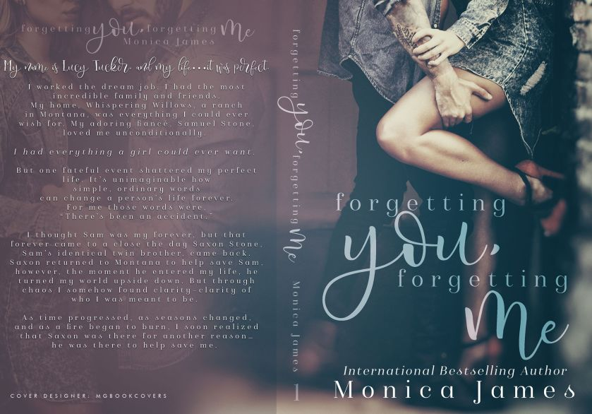 Monica James forgetting you, forgetting me Full Cover jacket 6.15.17