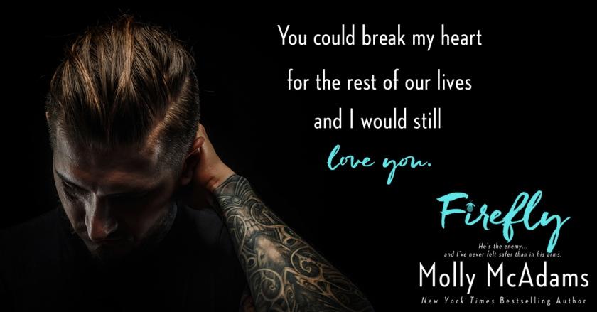 Molly McAdams Firefly Teaser 7.5.17