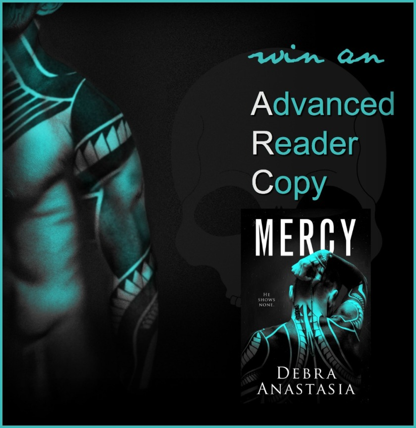 Debra Anastasia Mercy ARC giveaway Graphic 8.14.17