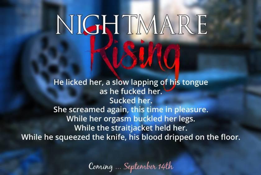 Authors Cari Silverwood and Nicolette Hugo Nightmare Rising teaser 9.13.17