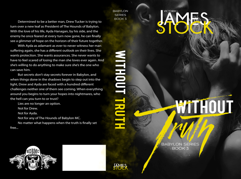 Authors Victoria L. James and L. J. Stock Without Truth_VLJS_Final_Blog 9.11.17