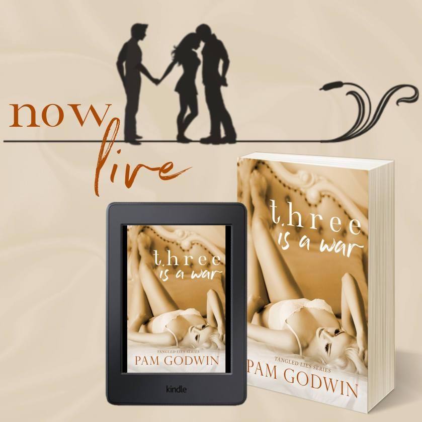 Pam Godwin Three is a War Now Live 8.31.17
