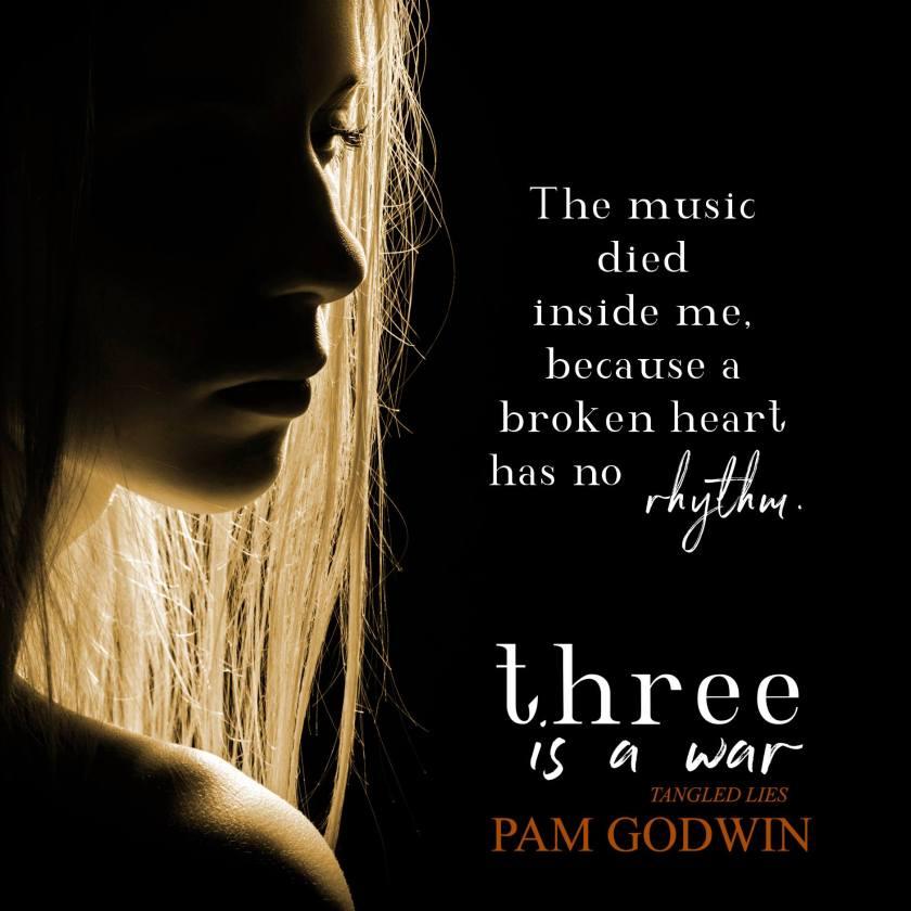 Pam Godwin Three is a War teaser 1 8.31.17