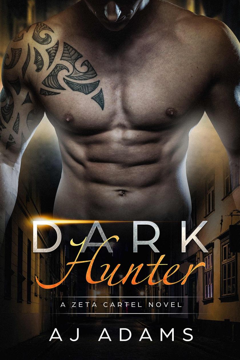 AJ Adams DARK Hunter cover 10.12.17