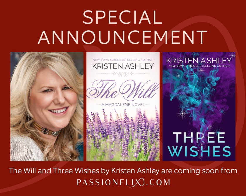 Kristen Ashley Special Announcement Passionflix 10.11.17.2