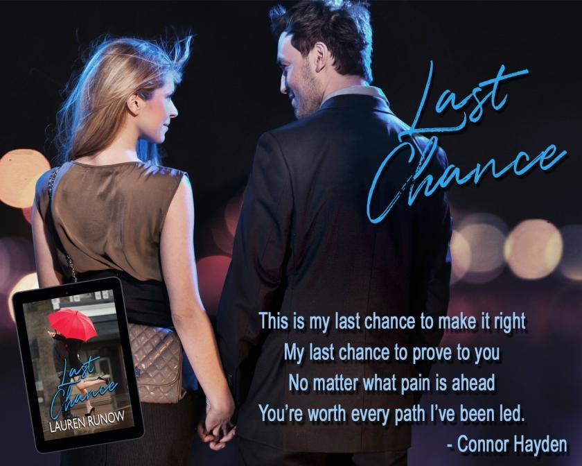 Lauren Runow Last Chance teaser 12.11.17