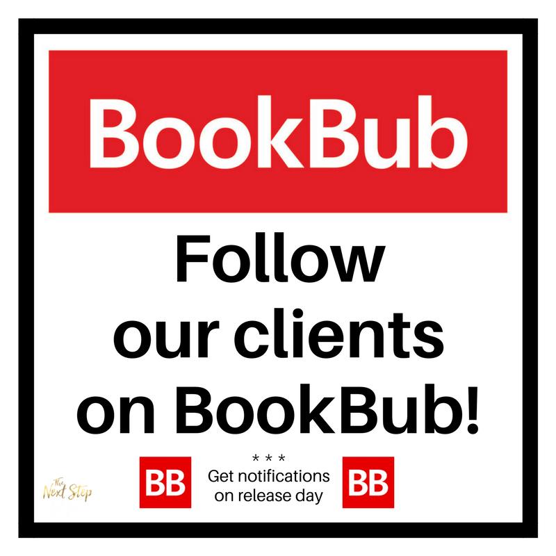 BOOKBUB FOLLOW 1.22.18