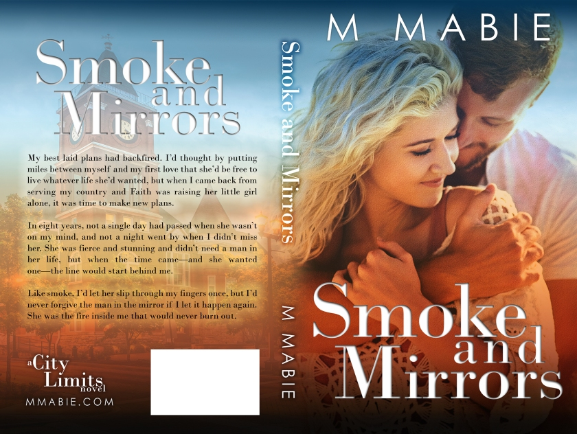 M. Mabie WEB WRAP SMOKE AND MIRRORS sm 1.13.18