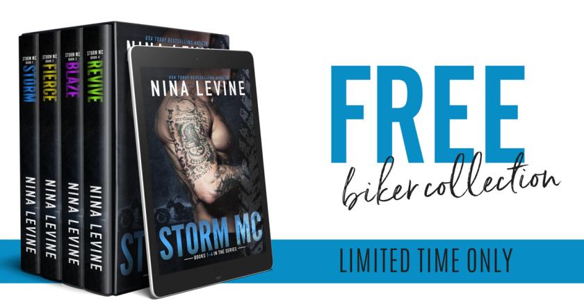 Nina Levine Free biker collection banner 2.4.18