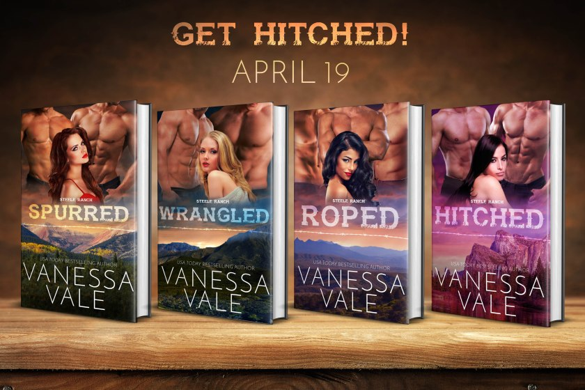 Vanessa Vale Hitched series 4.10.18