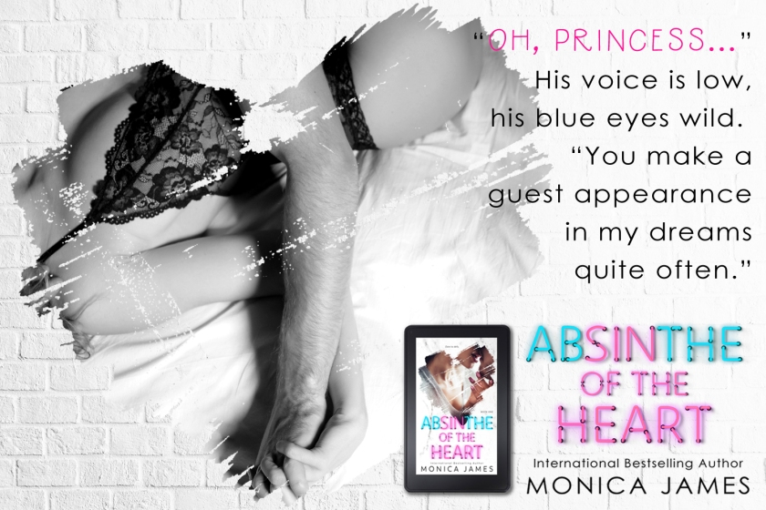 Monica James 3 Absinthe of the Heart teaser 1 5.14.18 princess