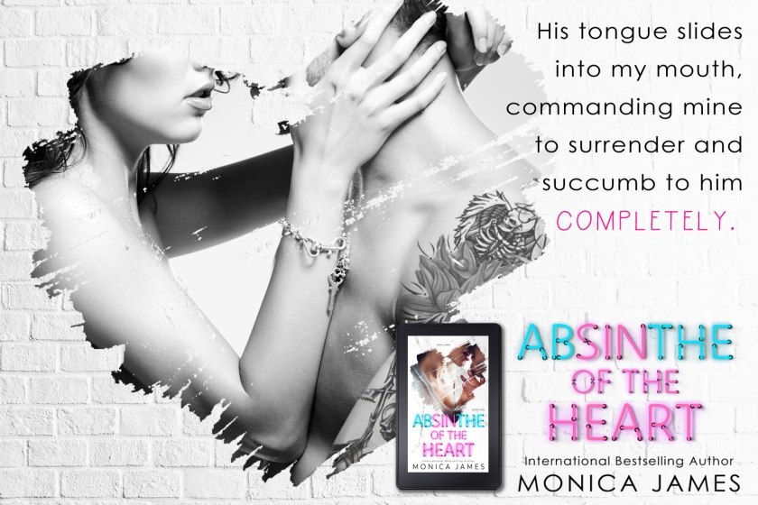Monica James Absinthe of the Heart teaser 2 5.14.18