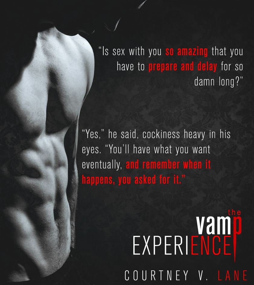 Courtney V. Lane the Vamp Experience teaser 6.15.18