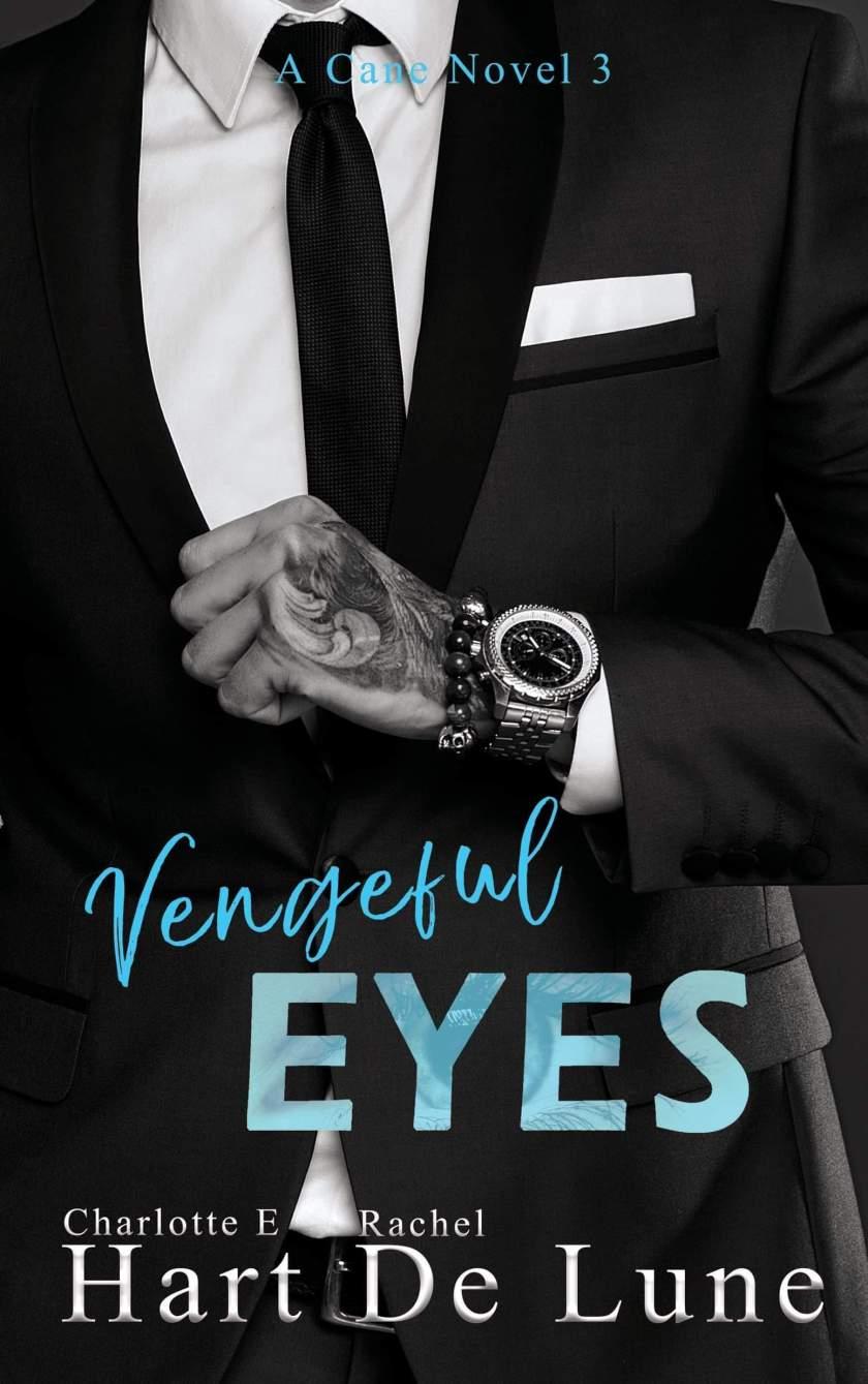 Charlotte E Hart and Rachel De Lune Vengeful Eyes ebook cover 3.13.19