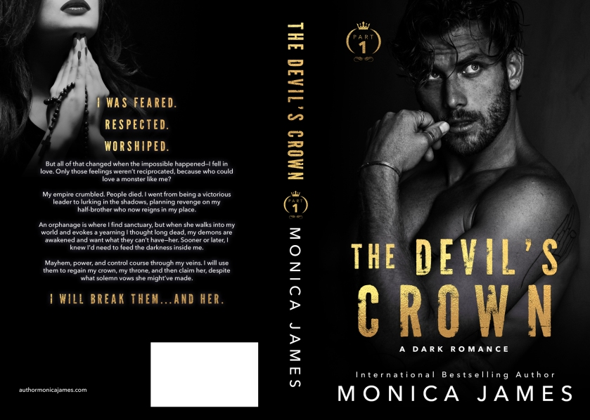 Monica James TheDevilsCrown_FullCover_LoRes 6.22.2020